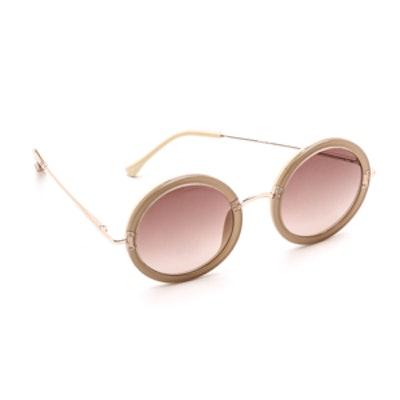 Mod Round Sunglasses