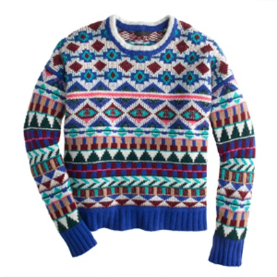 Collection Cashmere Graphic Sweater