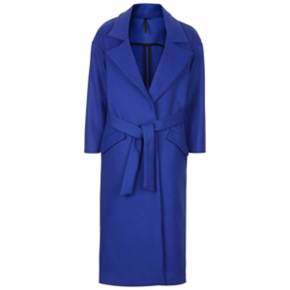 Cashmere Blend Blanket Coat
