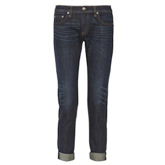 The Dre Mid-Rise Boyfriend Jeans