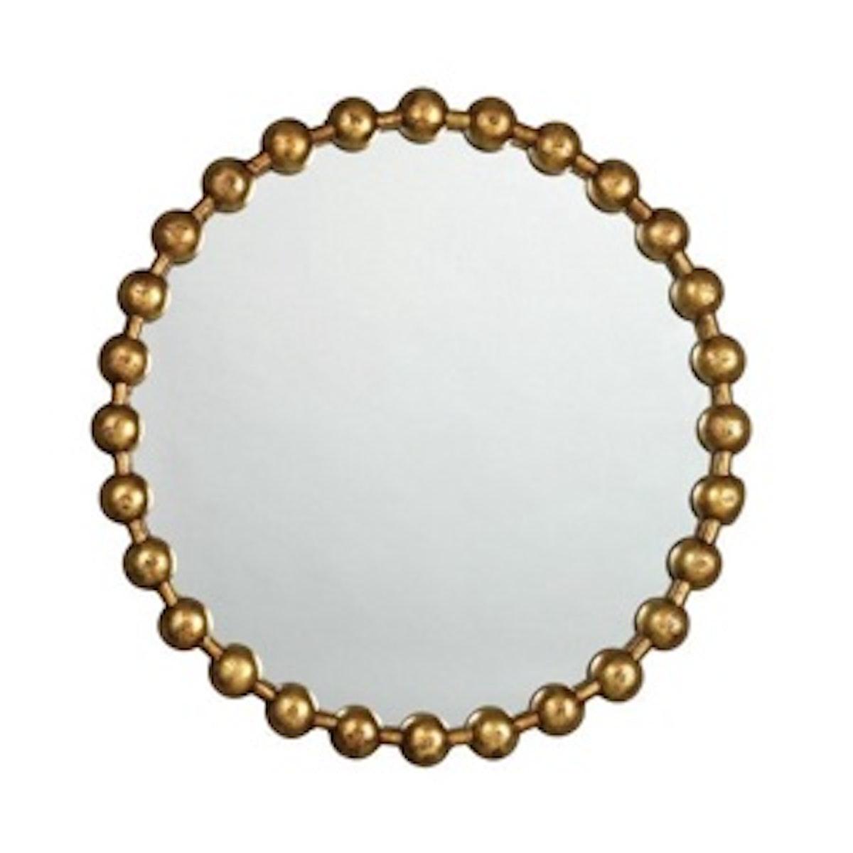 Ball-Chain Wall Mirror