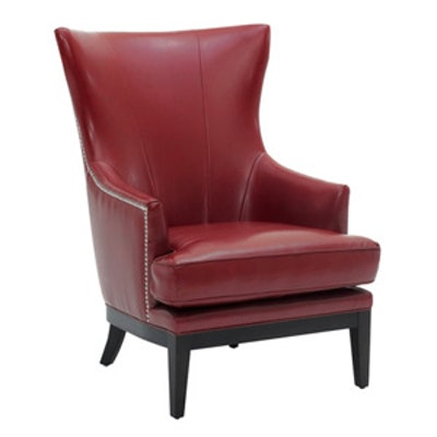 Reynaldo Faux Leather Arm Chair