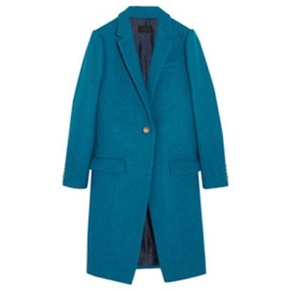 Collection Harris Tweed Wool Coat