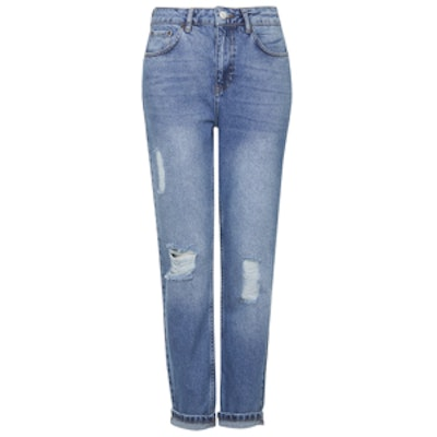Moto Ripped Jeans