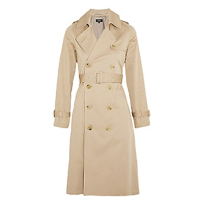 Greta Cotton-Gabardine Trench Coat