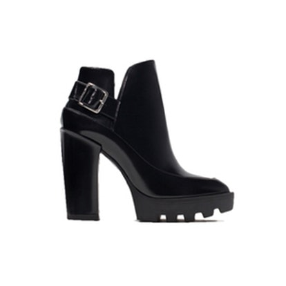 Track Heel Boots