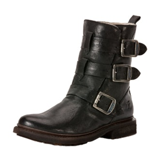 Valerie Strappy Shearling Boot