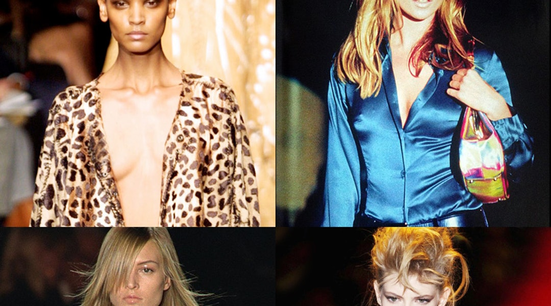 737115de796 11 Major Runway Moments From Tom Ford's Career