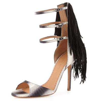Aurinia Fringe Sandal