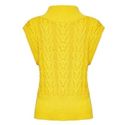Queena Mock Neck Sweater
