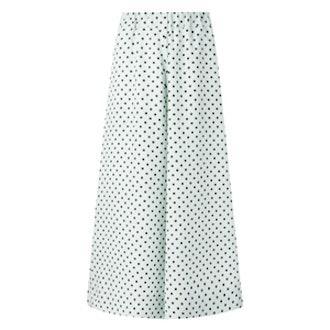 Polka Dot Cropped Trousers