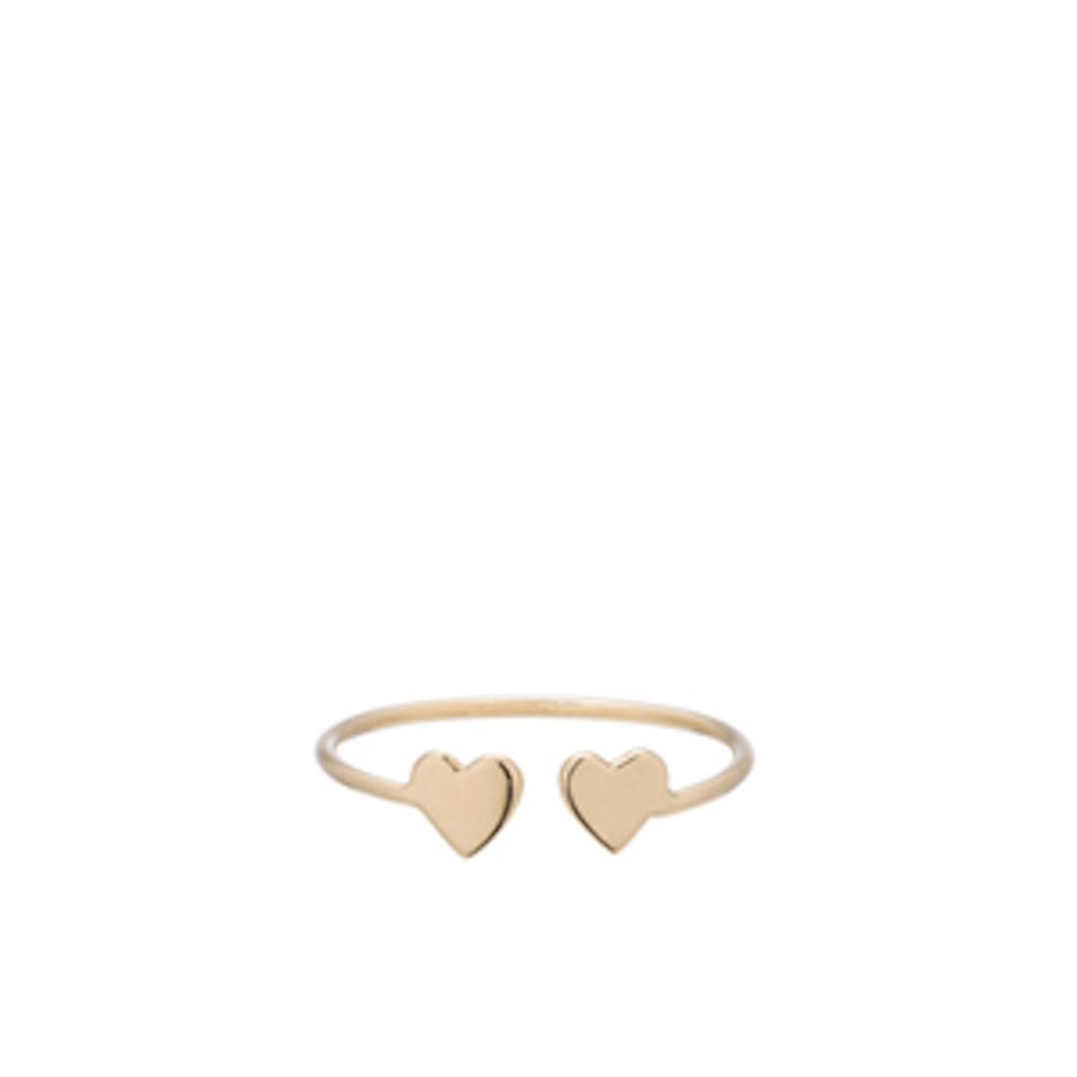 14K Yellow Gold Mini Sweetheart Ring