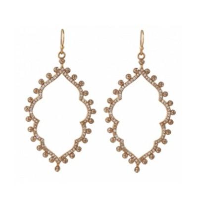 Sofia Pave Earrings