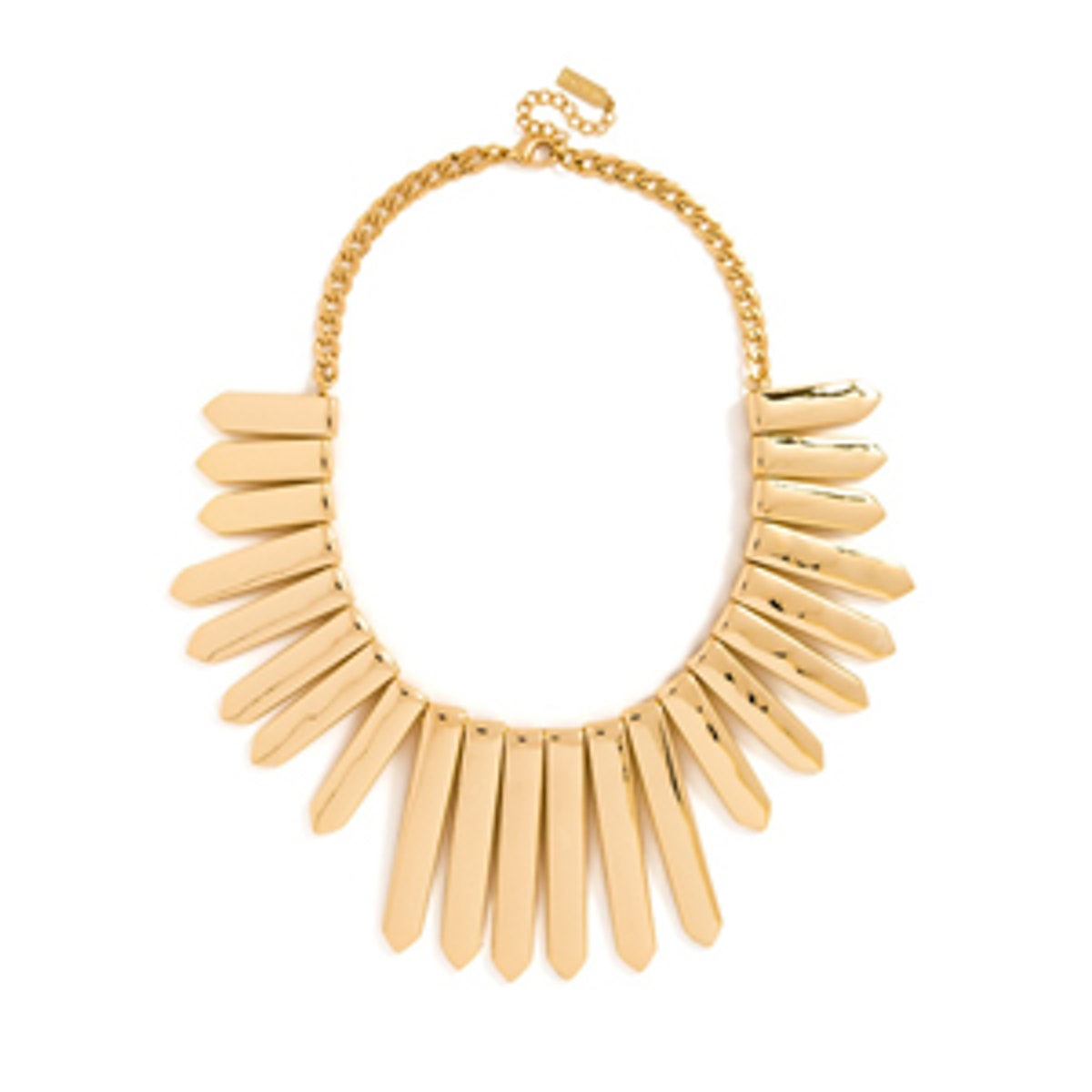 Gold Ra Bib Necklace