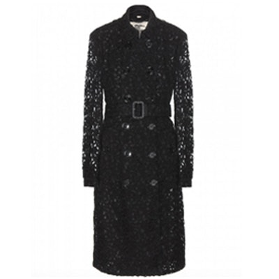 Pennyford Lace Trench Coat