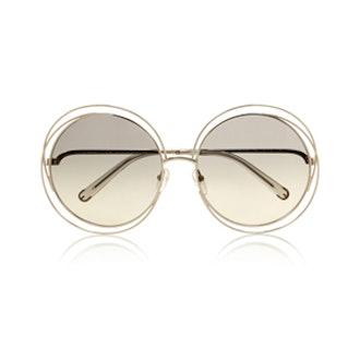 Carlina Oversized Round Sunglasses
