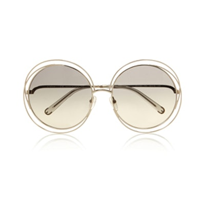 Carlina Oversized Round Sunglasses