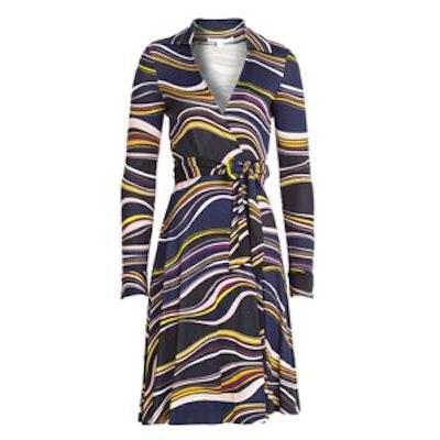 Silk Wrap Dress