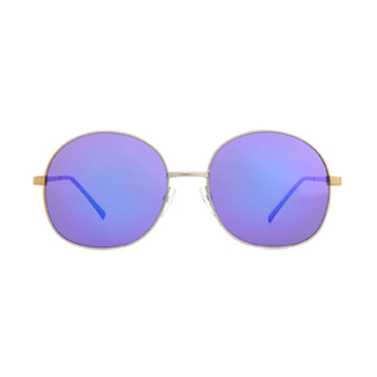 Alina Round Mirrored Sunglasses