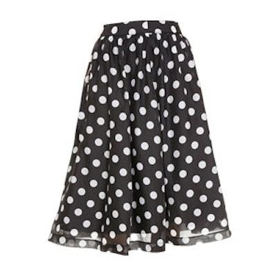 Polka Dot Full Skirt
