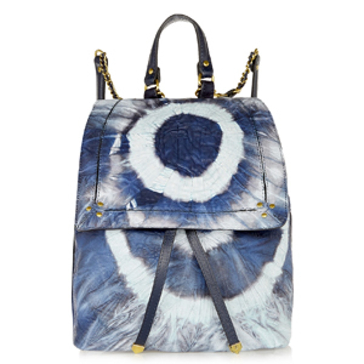Florent Tie-Dyed Leather Backpack