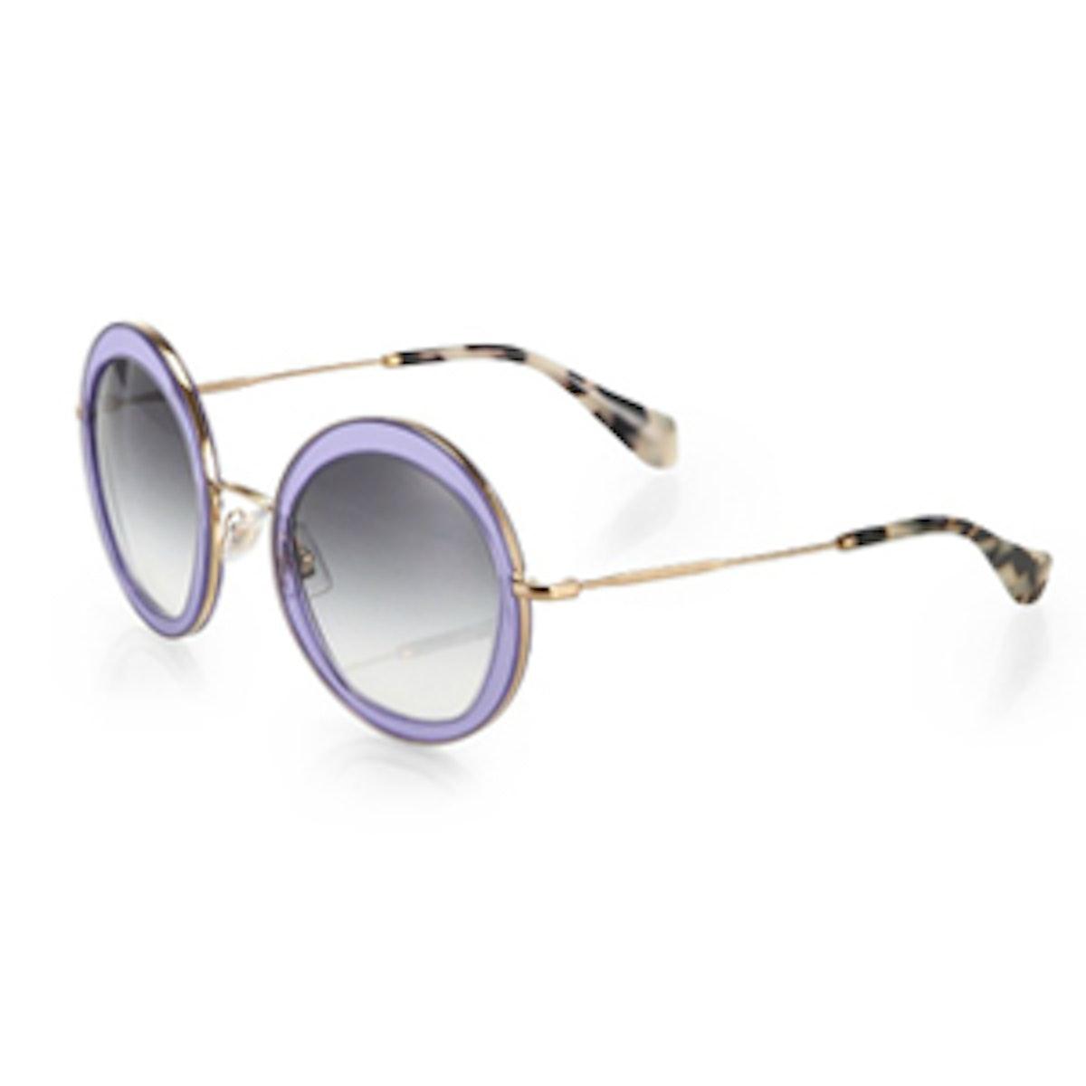 Pastel Round Sunglasses