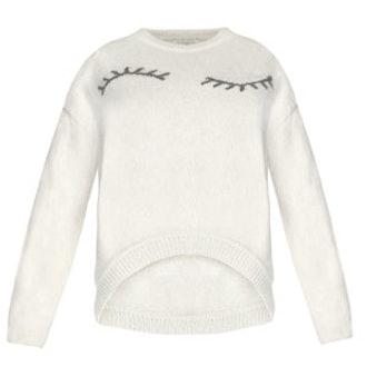 Fuzzy Eyelash Sweater