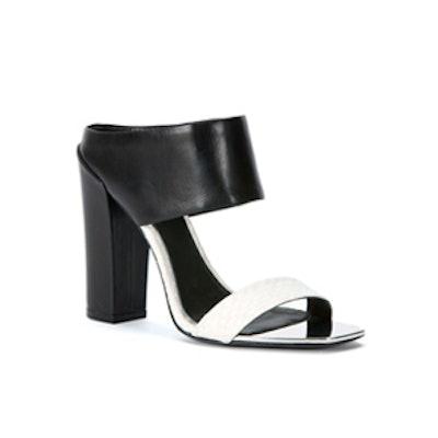 Skyla High-Heel Leather Sandals