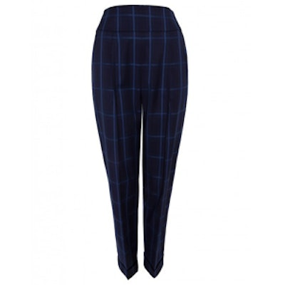 Millie Large Checked Trousers