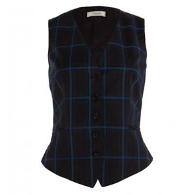 Millie Large Checked Waistcoat