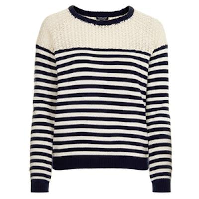 Lace Breton Stripe Jumper