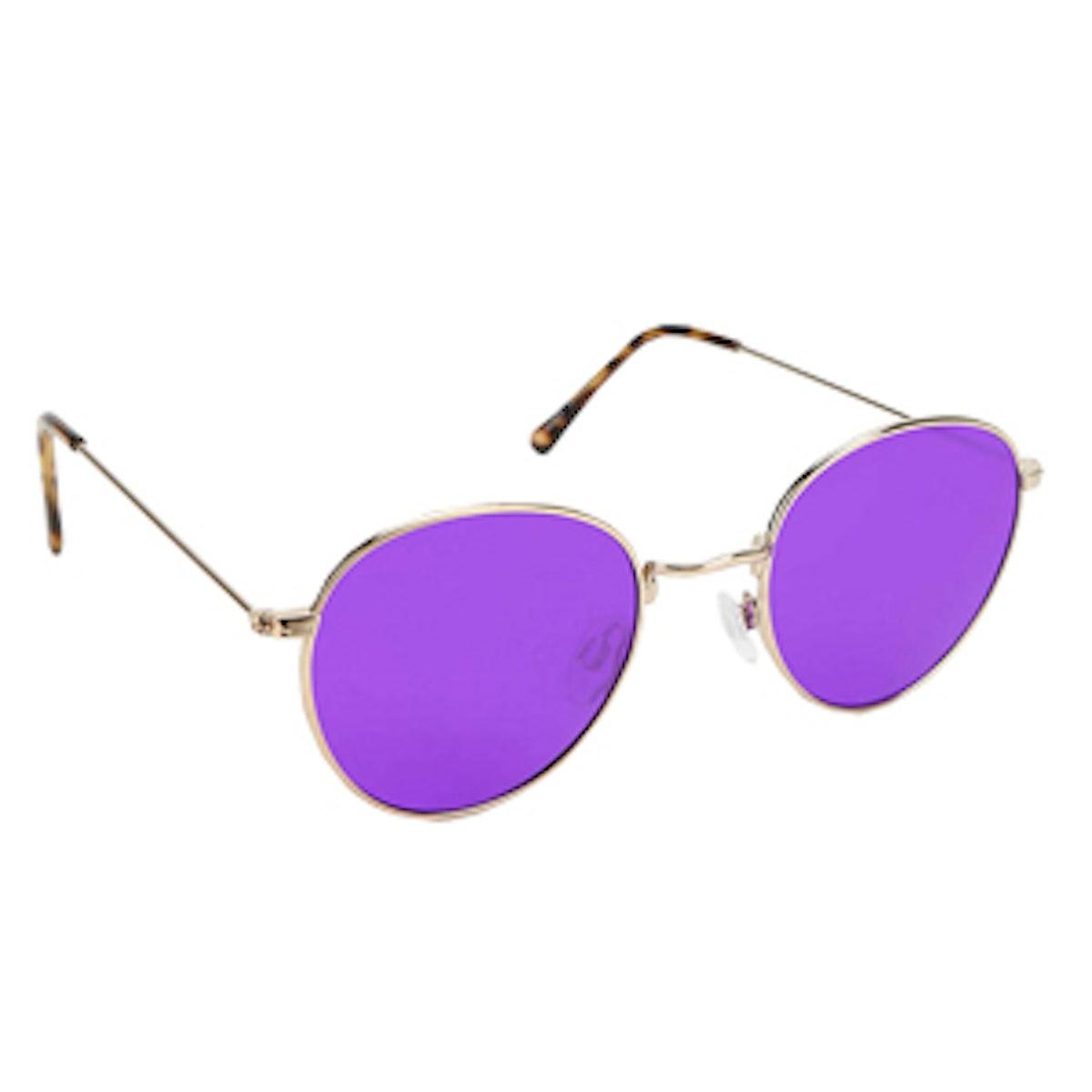 Aubrey Round Sunglasses