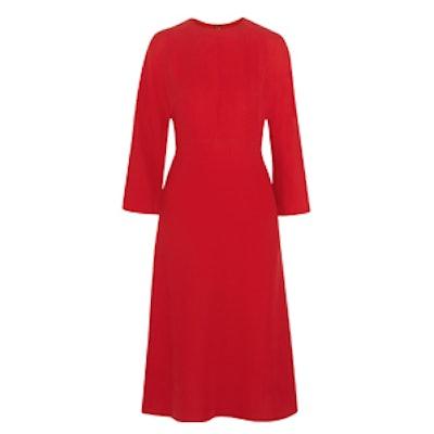 Silk-Cady Dress