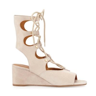 Suede Gladiator Sandal