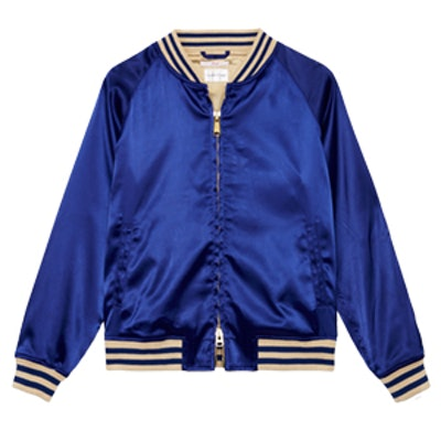 Hoops Cobalt Blue Jacket