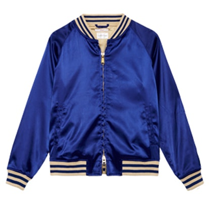 Hoops Cobalt Blue Jacket
