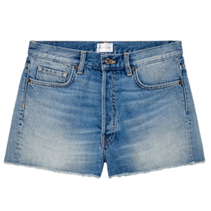 Denim Light Wash Shorts