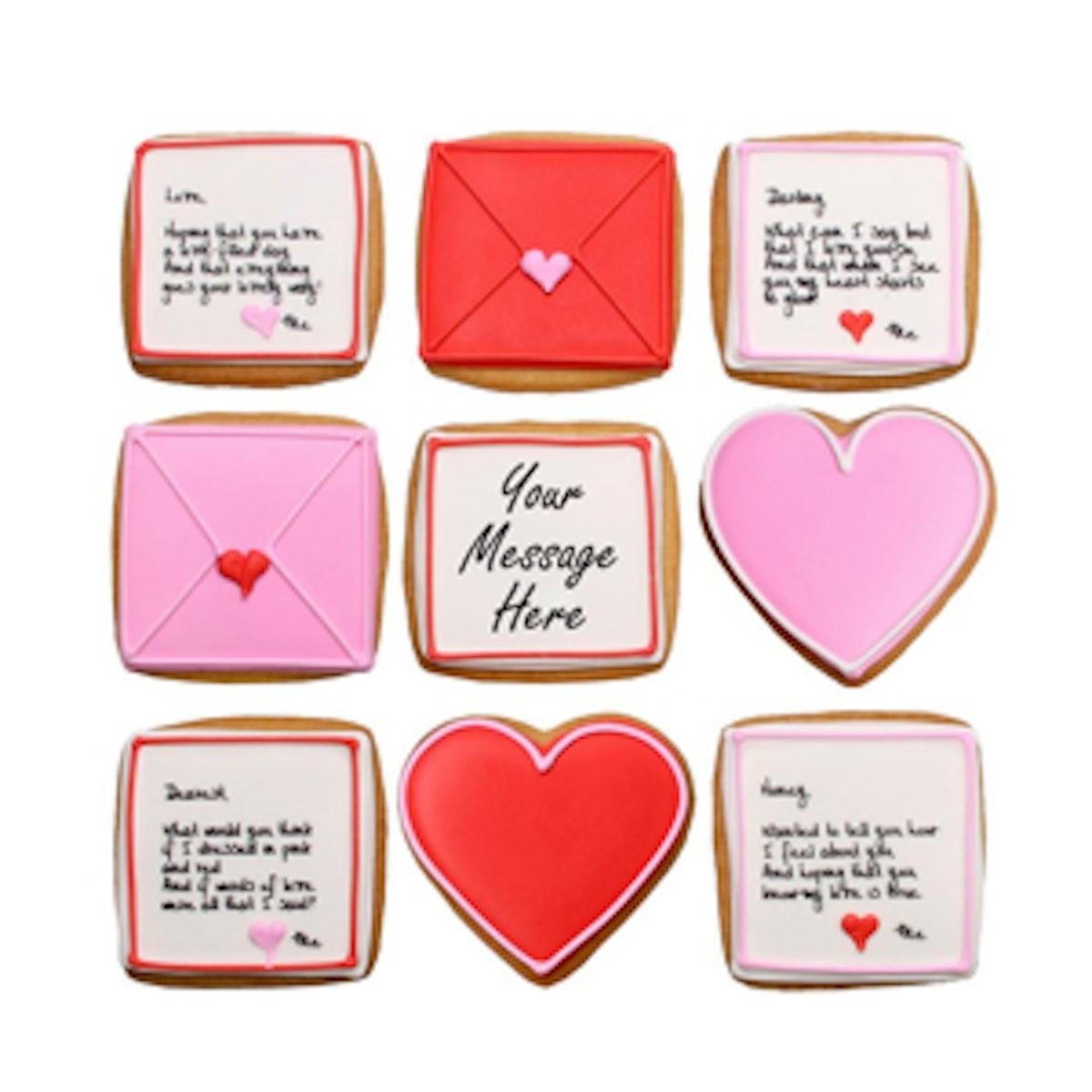 Custom Love Letters Valentine's Gift Set