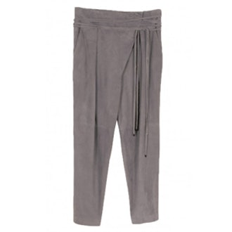 Featherweight Suede Wrap Pants