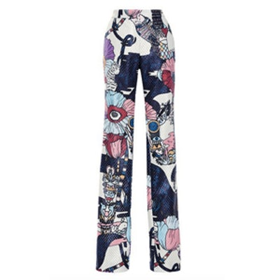 Poppies Jacquard Pants