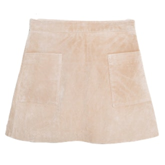 Peccary Leather Skirt