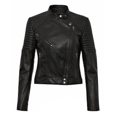 Jet Leather Jacket