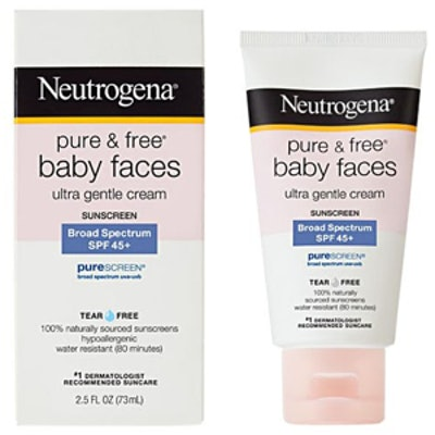 Pure and Free Baby Faces – SPF 45