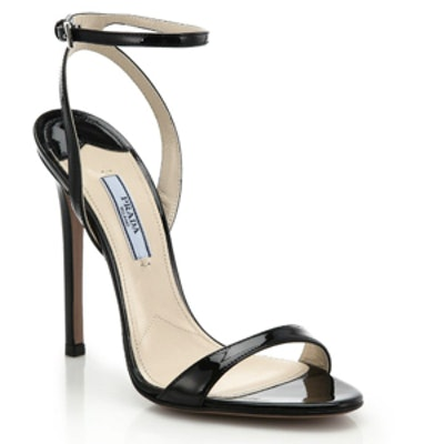Patent Leather Sandals