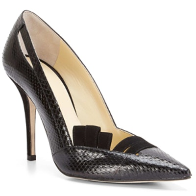 Irene Black Snake Pump