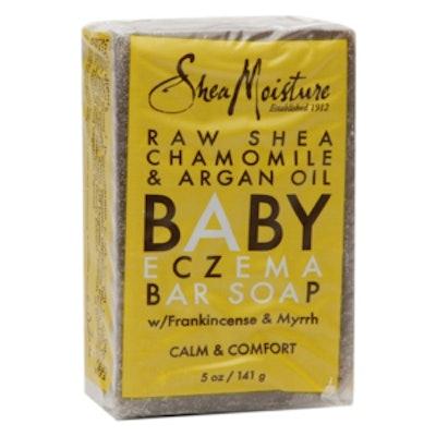 Baby Eczema Bar Soap Raw Shea Chamomile & Argan Oil