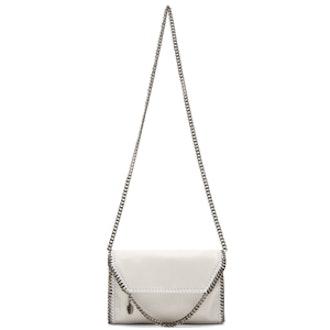Chalk White Shaggy Deer Mini Bag