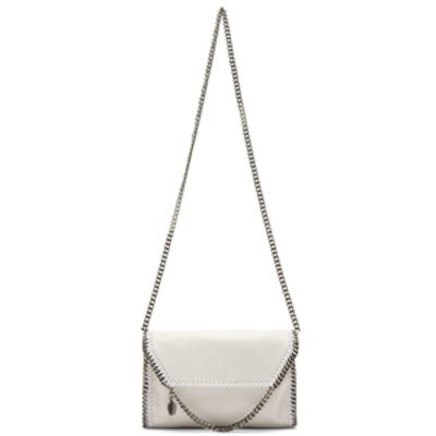 Chalk White Shaggy Deer Mini Bag