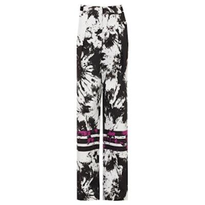 Abstract Printed Pants