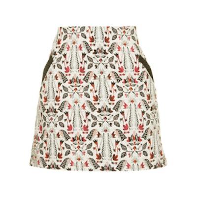 Tall Jacquard Pelmet Skirt